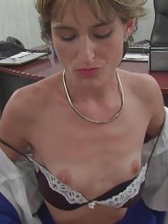 Small Tits MILF Pics